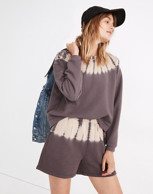 """<br><br><strong>Madewell</strong> Tie-Dye (Re)sourced Cotton Swing Sweatshirt, $, available at <a href=""""https://go.skimresources.com/?id=30283X879131&url=https%3A%2F%2Fwww.madewell.com%2Ftie-dye-%2528re%2529sourced-cotton-swing-sweatshirt-NB321.html"""" rel=""""nofollow noopener"""" target=""""_blank"""" data-ylk=""""slk:Madewell"""" class=""""link rapid-noclick-resp"""">Madewell</a>"""