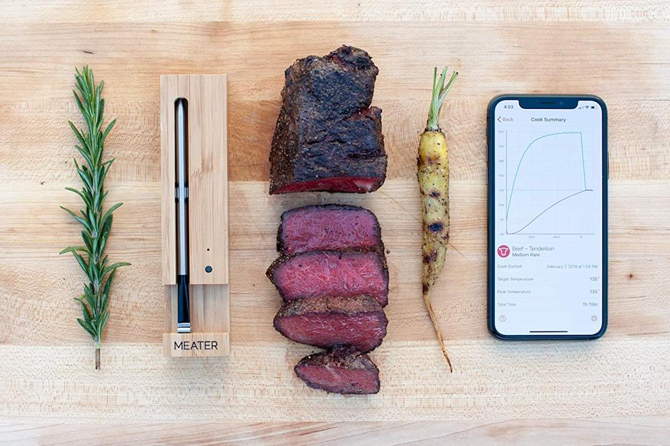 Meater 33ft Range Meat Thermometer. Image via Amazon.