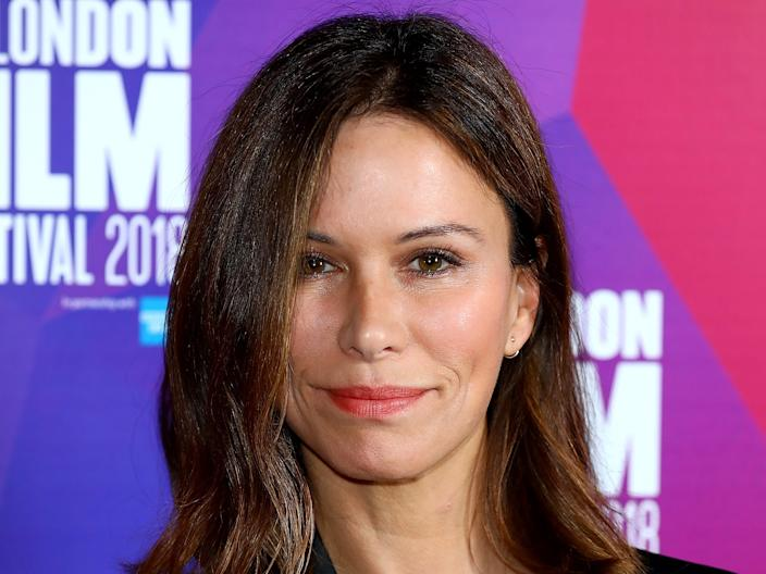 """Rhona Mitra in 2018. <p class=""""copyright"""">Tim P. Whitby/Getty Images for BFI</p>"""