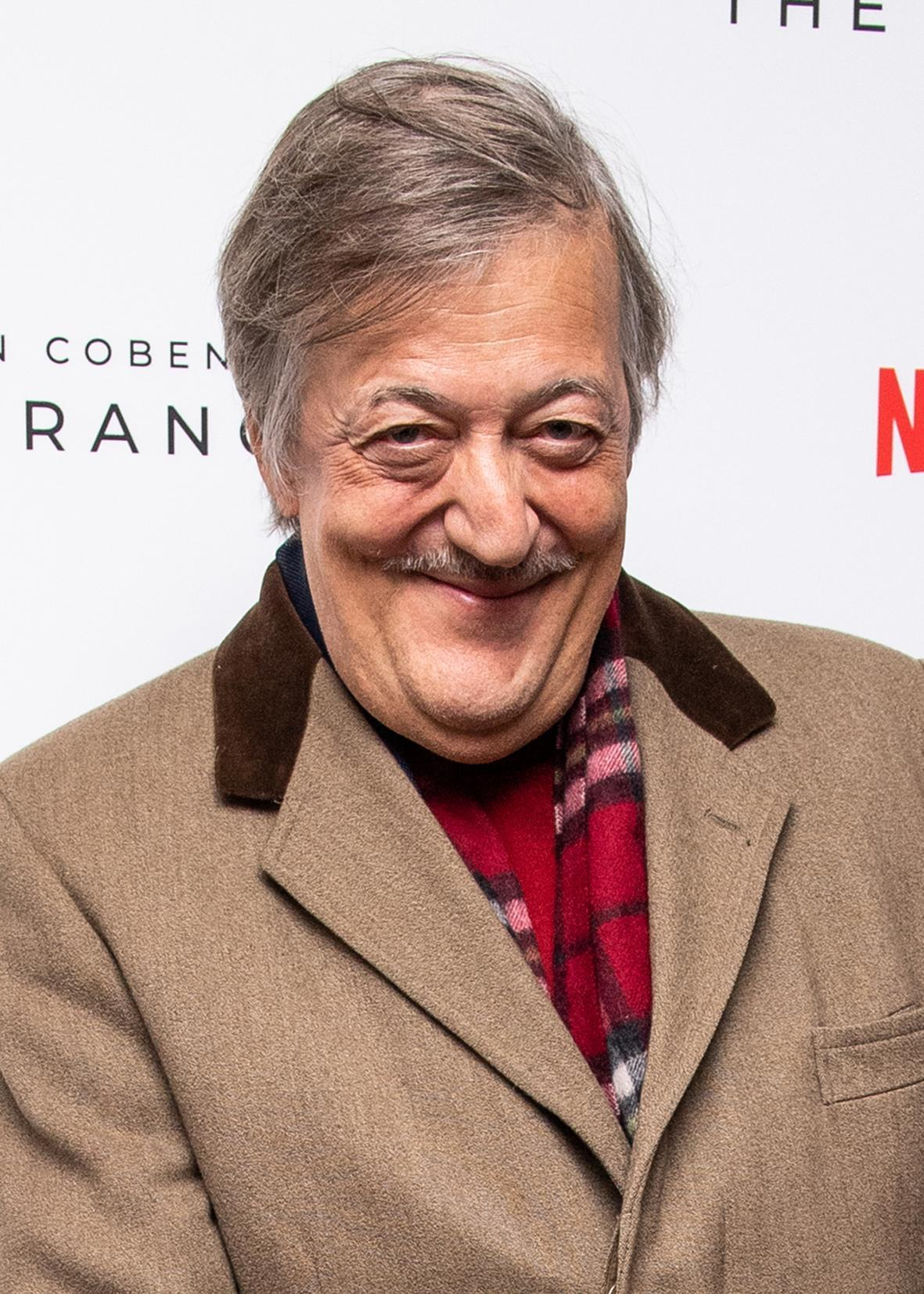 File photo dated 10/12/19 of Stephen Fry, who has urged people to be kind to themselves during the third lockdown and not to