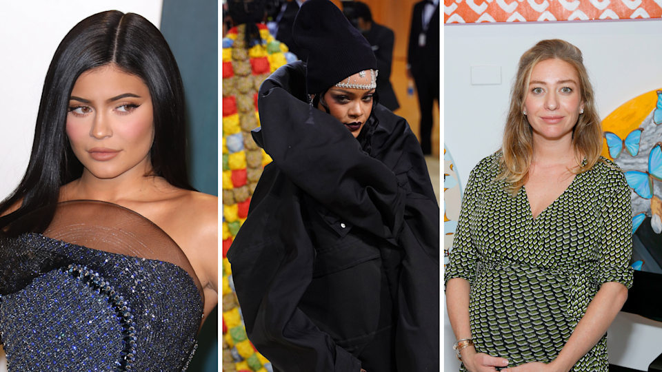 Kylie Jenner, Rhianna and Whitney Wolfe Herd