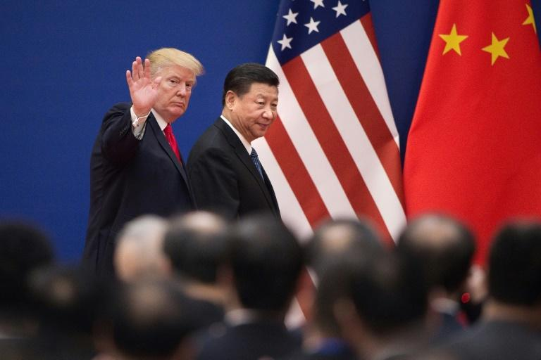 US President Donald Trump Trump has hit $200 billion of Chinese imports with levies and has threatened to impose them on an additional $300 billion (AFP Photo/Nicolas ASFOURI)