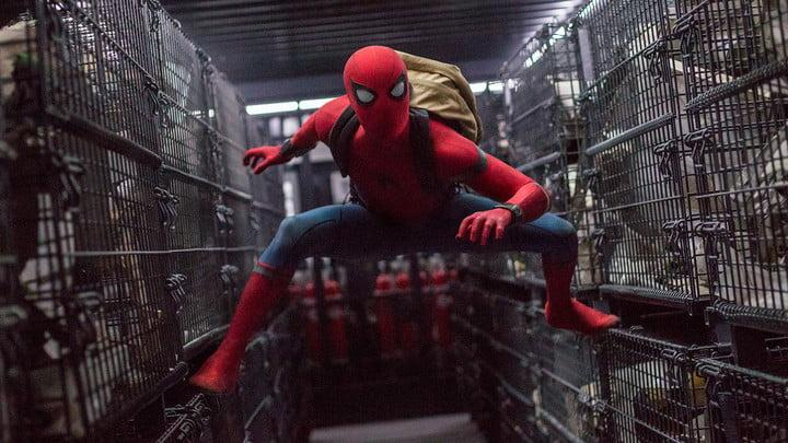spider man homecoming review cages