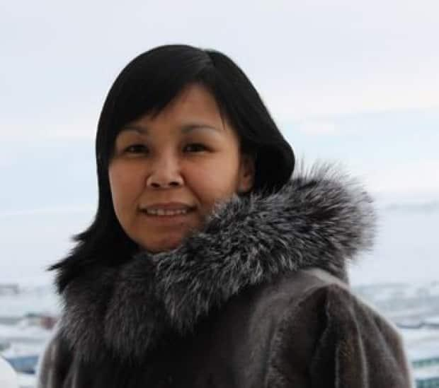 Lori Idlout is looking to fill the vacancy of outgoing NDP candidate Mumilaaq Qaqqaq as Nunavut's MP. (Submitted by Lori Idlout - image credit)