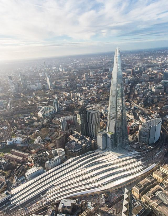 <p>The newly-developed station includes five new platforms, in an effort to reduce delays. (Network Rail) </p>