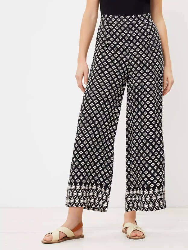 The Pull On Wide Leg Crop Pant