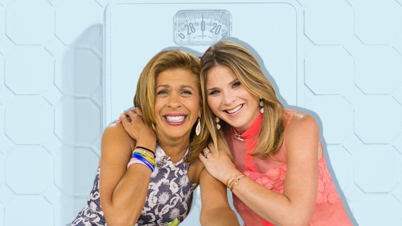 Jenna Bush Hager and Hoda Kotb Just Weighed Themselves on National TV—And Women Are Living For It
