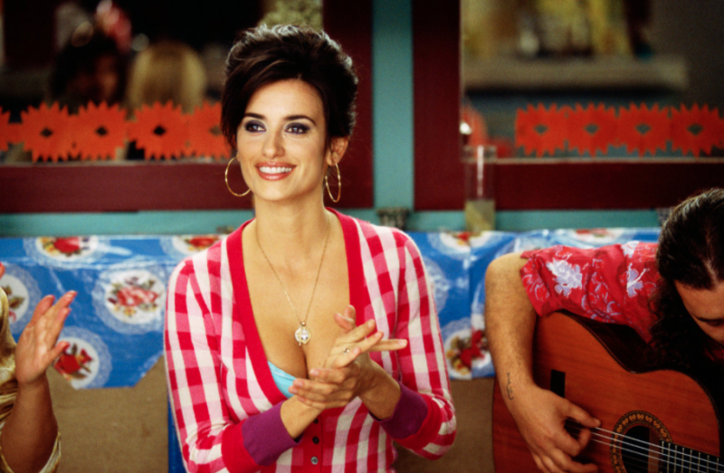 Penelope Cruz in a still from Volver. (Warner Bros.)