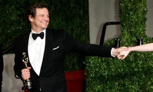 Banned, snubbed, and saved by Colin Firth – my life in Oscars parties