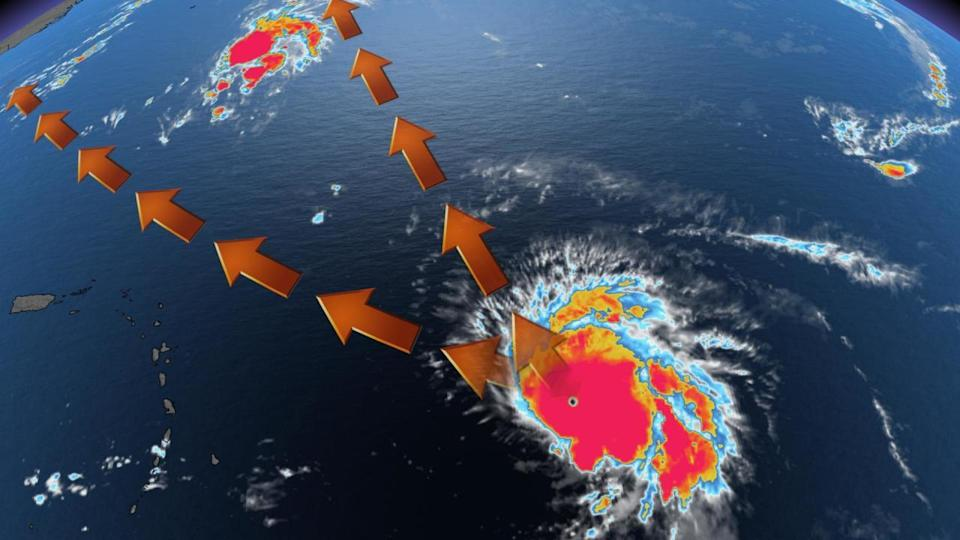 Powerful Sam stays the course as Category 4 hurricane amid track shift