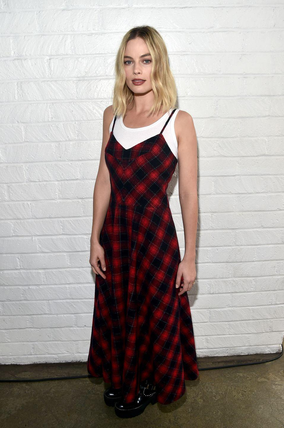 <p>Margot Robbie at the 'Indie Contenders Roundtable' November, 2017 in Hollywood.</p>