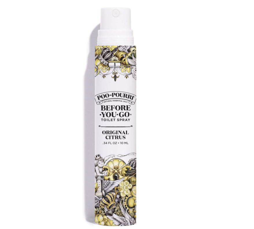 Poo-Pourri Before-You-Go Toilet Spray is as effective as it is funny. (Photo: Amazon)