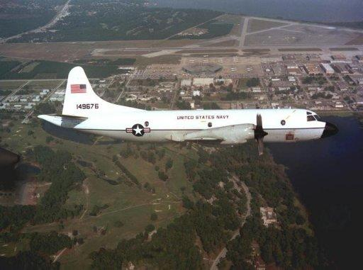 A Florida-based P-3 detected the two vessels on April 20  off the east coast of Panama