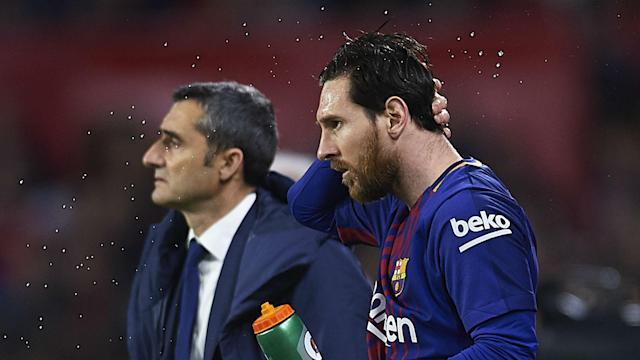 Lionel Messi has joined team-mate Luis Suarez in thanking Ernesto Valverde and wishing the ex-Barcelona boss good luck for the future.