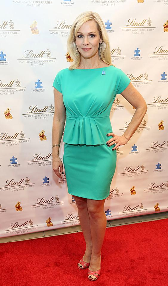 NEW YORK, NY - MARCH 05:  Jennie Garth attends the 2013 Lindt Gold Bunny Celebrity Auction at Lindt Chocolate Shop on March 5, 2013 in New York City.  (Photo by Rob Kim/FilmMagic)