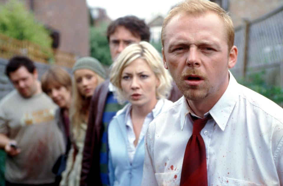 """""""Shaun of the Dead"""" - Credit: Rogue Pictures/Everett Collection"""