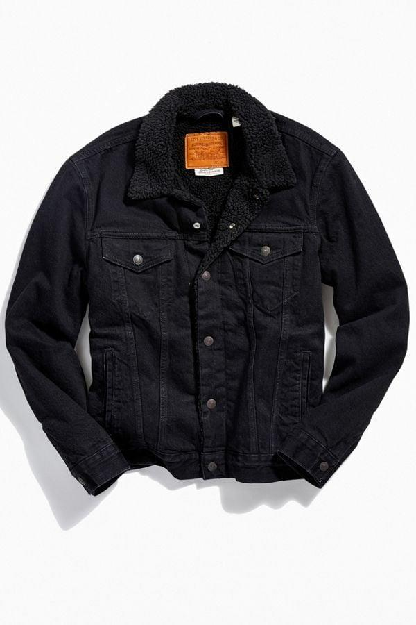 <p>This <span>Levi's Type III Sherpa Lined Trucker Jacket</span> ($128) is so cool, and will definitely keep them warm.</p>