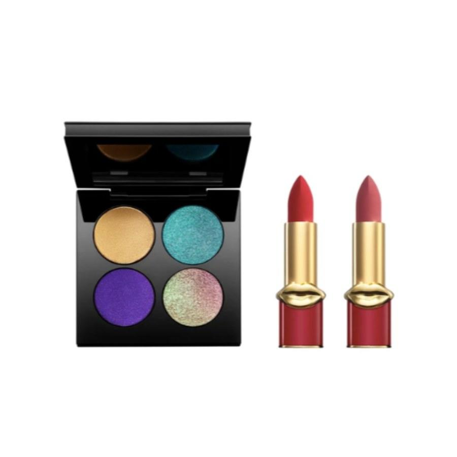 """<p>""""Let's be honest: Who <em>doesn't</em> want Pat McGrath for Christmas? This <a href=""""https://www.patmcgrath.com/products/obsessive-opulence-kit?variant=30486972432453#13003048484933"""" rel=""""nofollow"""">four quad palette</a> comes with gorgeous shimmers perfect for a cool-toned New Year's makeup look. The red and nude pink lipsticks are great colors to use year-round. So to my friends, if you're ready this you know what I want this Christmas.""""</p> <p><em>~ Gabi Thorne, editorial assistant</em></p>"""