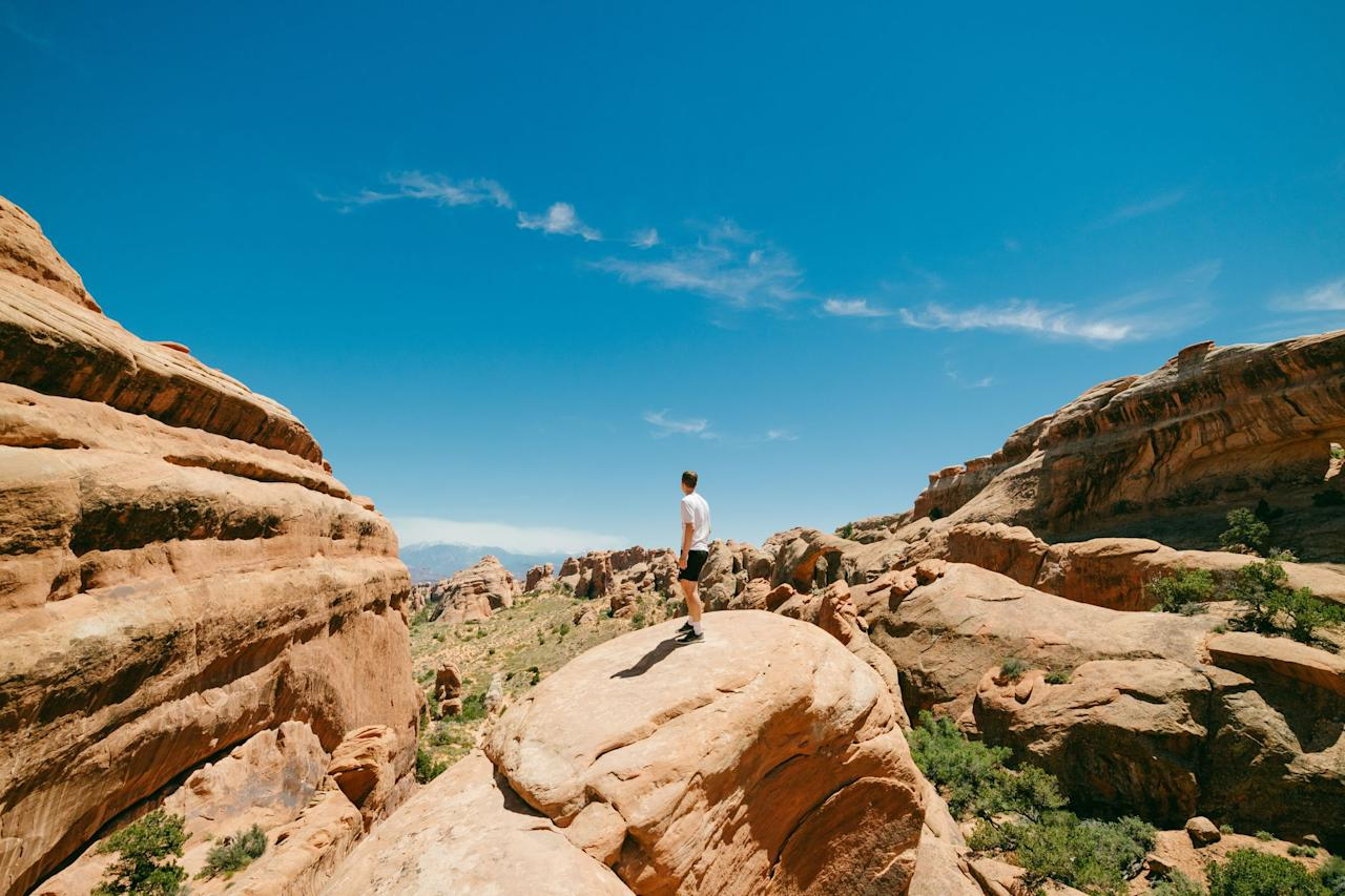 """<p>Hiking is one of the best ways to escape your ordinary surroundings, get some exercise, and explore the nature that's right in your backyard—or at the very least, in your state. In fact, an <a href=""""https://www.ncbi.nlm.nih.gov/pubmed/31001682"""" target=""""_blank"""">April 2019 study</a> from the<em> International Journal of Biometeorology </em>suggests that forest bathing, aka being out in nature, can significantly lower <a href=""""https://www.prevention.com/health/mental-health/g23627062/stress-effects-on-the-body/"""" target=""""_blank"""">stress levels</a>. Whether you're a newbie hiker or an veteran trekster, these jaw-dropping trails across the country will inspire you to lace up your <a href=""""https://www.prevention.com/fitness/workout-clothes-gear/g19791835/best-hiking-shoes-for-women/"""" target=""""_blank"""">hiking shoes</a> and get outdoors. Here are the most breathtaking trails in every state. </p>"""