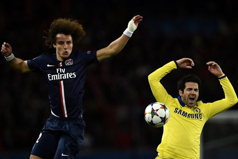 In the match before the incident, Paris Saint-Germain and Chelsea drew 1-1 in their Champions League clash on February 17, 2015 (AFP Photo/Franck Fife)
