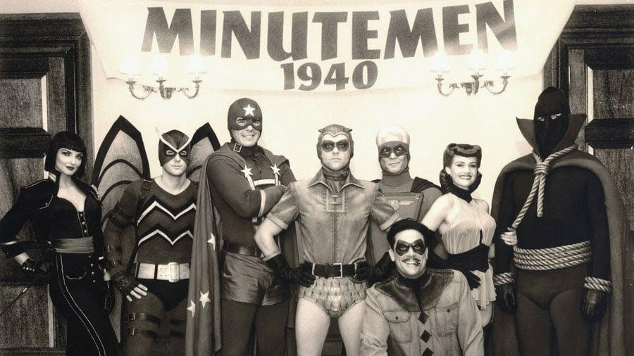 <p>To understand the Watchmen, you must first look at the Minutemen. This was the predecessor superhero group, fighting crime in the 1940s. They appeared in the movie because there are members of this group whose successors are part of the Watchmen: the original Nite Owl (Stephen McHattie) and Silk Spectre (Carla Gugino) were Minutemen. By the events of the Watchmen movie, which take place in the 1980s, only Silk Spectre, Nite Owl and Mothman (Niall Matter) are still alive.</p> <p>This group never came to fruition in the comics. Creators Alan Moore and Dave Gibbons always talked about doing the Minutemen as a prequel series, but it never happened.</p>
