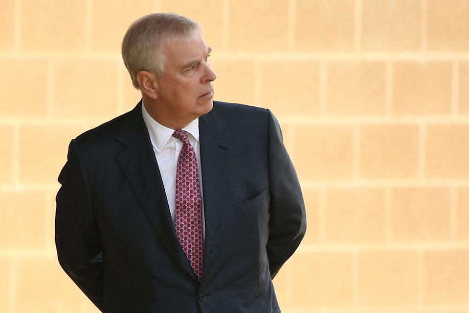 The Duke Of York stepped away from duties in late 2019. [Photo: Getty]