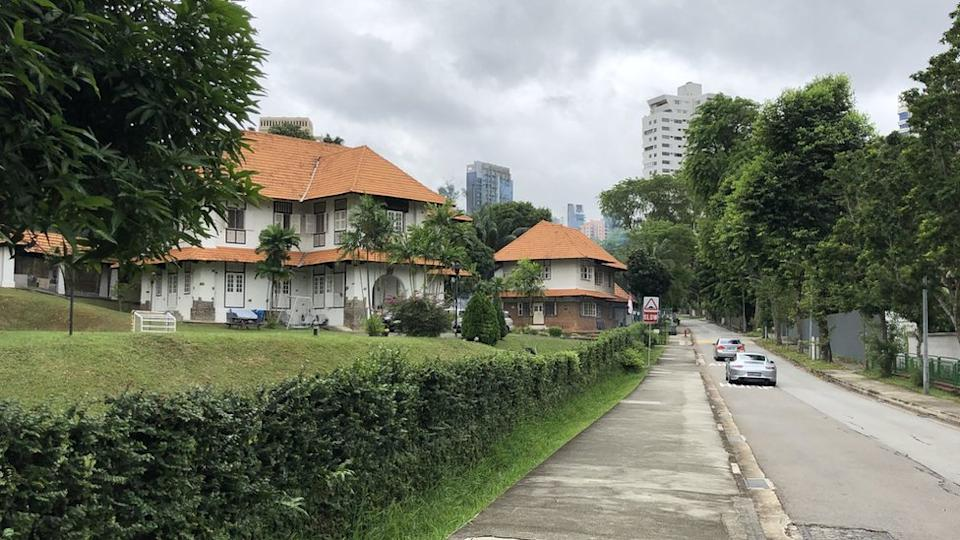 Expensive houses in Singapore.