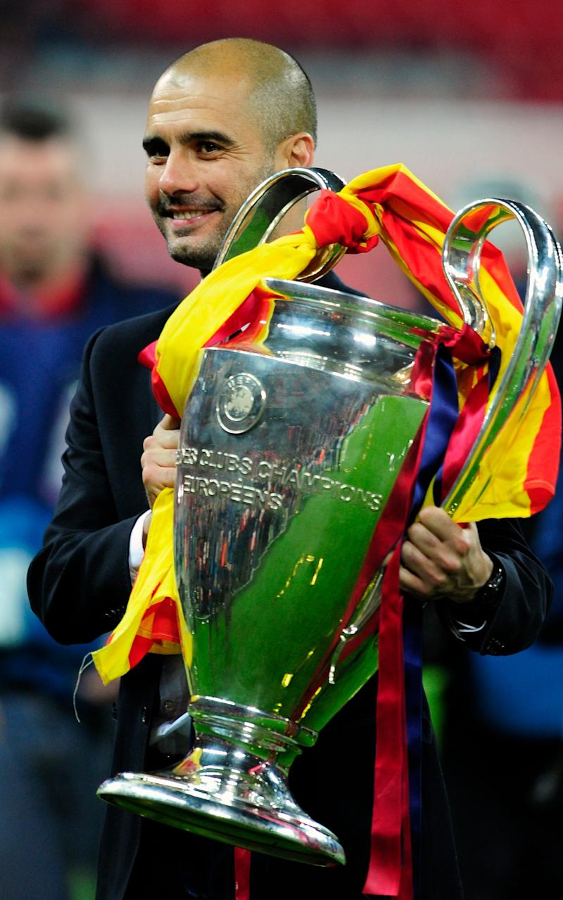 Pep Guardiola - Credit: AP