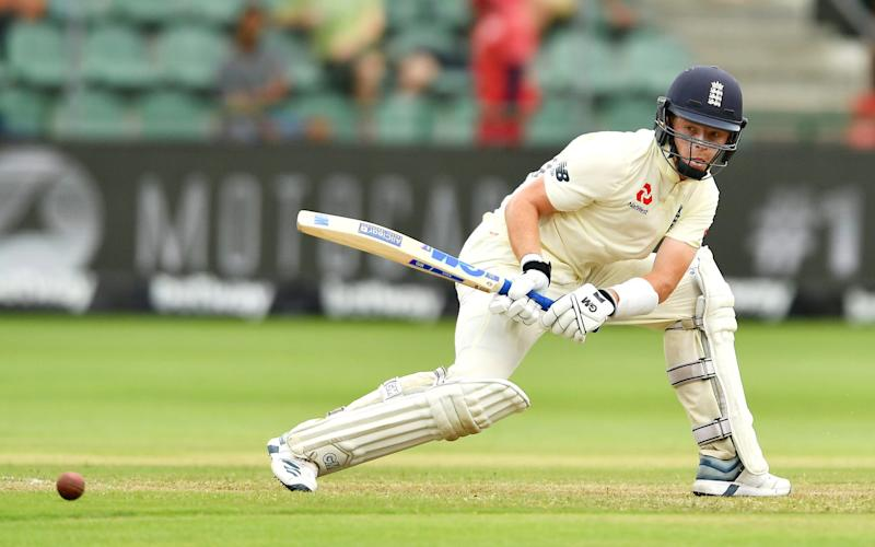 Ollie Pope played a variety of shots in his maiden Test match hundred against South Africa - Getty Images Europe
