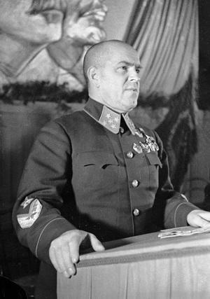 Russian Marshal Georgy Zhukov apparently requested a clear variant of Coca-Cola without the label and with a cap donning a red star.