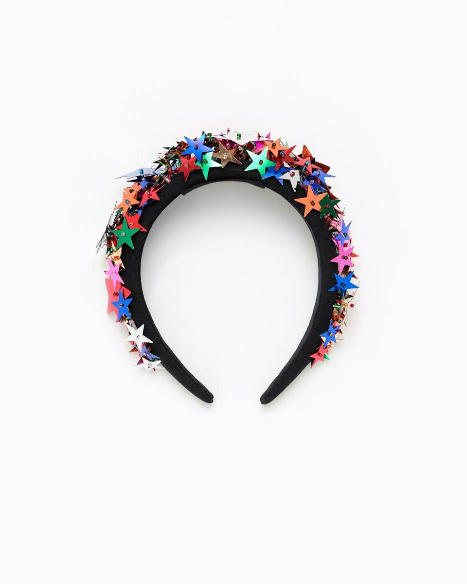 """<p><a class=""""link rapid-noclick-resp"""" href=""""https://www.bimbaylola.com/gb_en/multicolor-stars-headband-202badi01-t1306"""" rel=""""nofollow noopener"""" target=""""_blank"""" data-ylk=""""slk:SHOP NOW"""">SHOP NOW</a></p><p>Team this super fun, starry style with a pared-down outfit to really show it off. </p><p>Multicolor stars headband, £35, <a href=""""https://www.bimbaylola.com/gb_en/multicolor-stars-headband-202badi01-t1306"""" rel=""""nofollow noopener"""" target=""""_blank"""" data-ylk=""""slk:Bimba y Lola"""" class=""""link rapid-noclick-resp"""">Bimba y Lola</a></p>"""