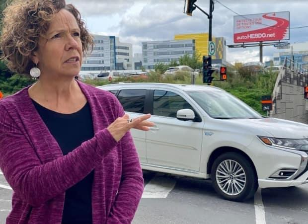 CDN-NDG Borough Mayor Sue Montgomery has been found guilty of 11 ethics violations by Quebec's Municipal Commission. (Simon Nakonechny/CBC - image credit)