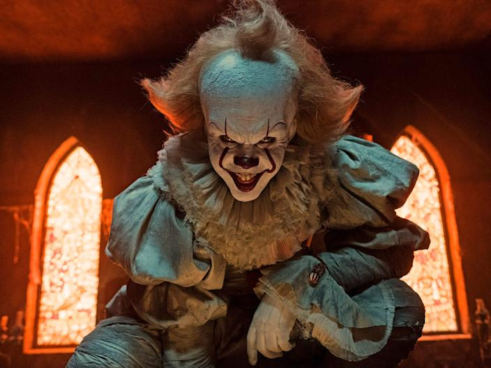 pennywise it clown