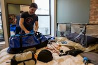 A growing number of climbers are using oxygen-deprivation tents to acclimatise and shorten their Everest expedition to avoid Covid-19 in Nepal