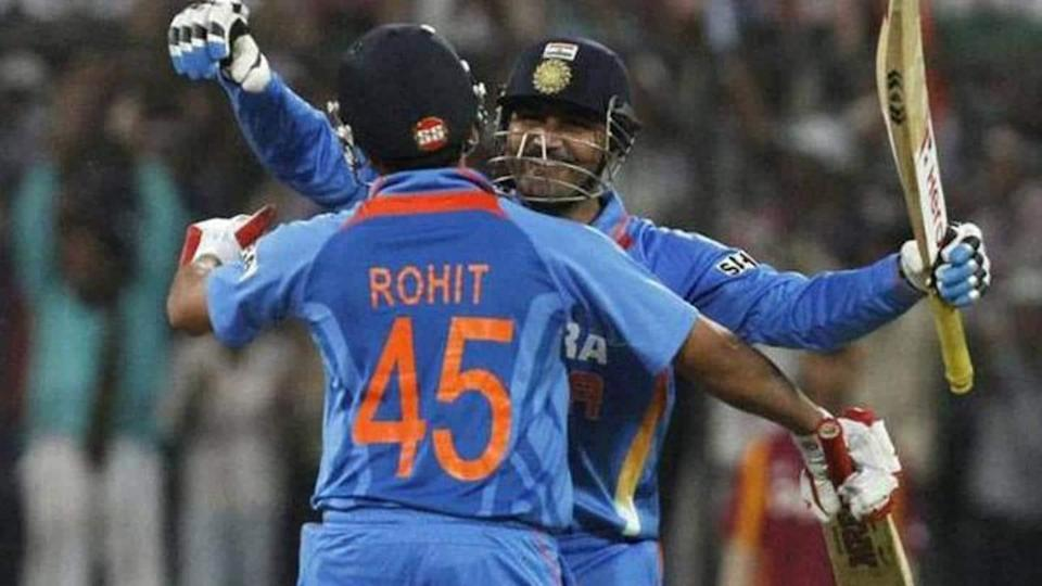 Rohit Sharma vs Virender Sehwag: Statistical comparison (as openers)