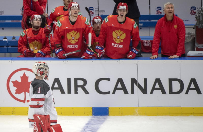 Russia submitted a truly dominant performance, handing Canada a crushing 6-0 loss at the World Juniors. (THE CANADIAN PRESS/Ryan Remiorz)