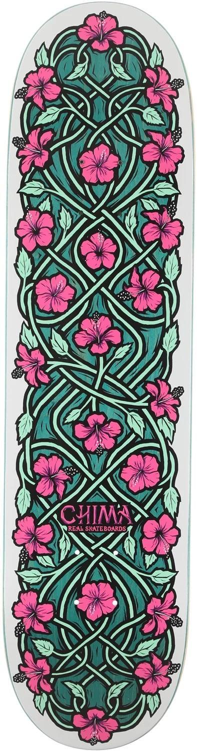 <p><span>Real Chima Intertwined 8.06 Skateboard Deck</span> ($63)</p>
