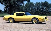 <p>Here's the '78 Z28. The drivetrain carried over from '77.</p>