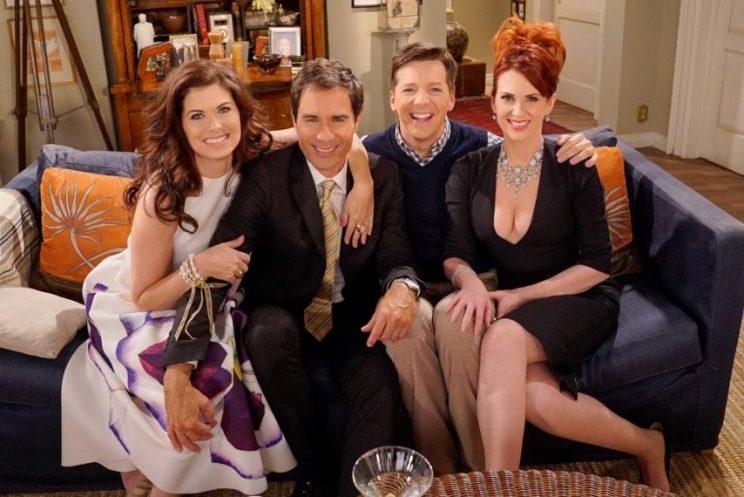 The cast of Will and Grace