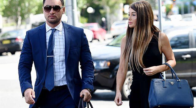 Salim Mehajer's wife Aysha was removed from nine senior positions within the family business empire this week. Photo: AAP