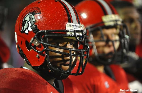 Livonia Clarenceville football player Dejuan Smith Whittaker
