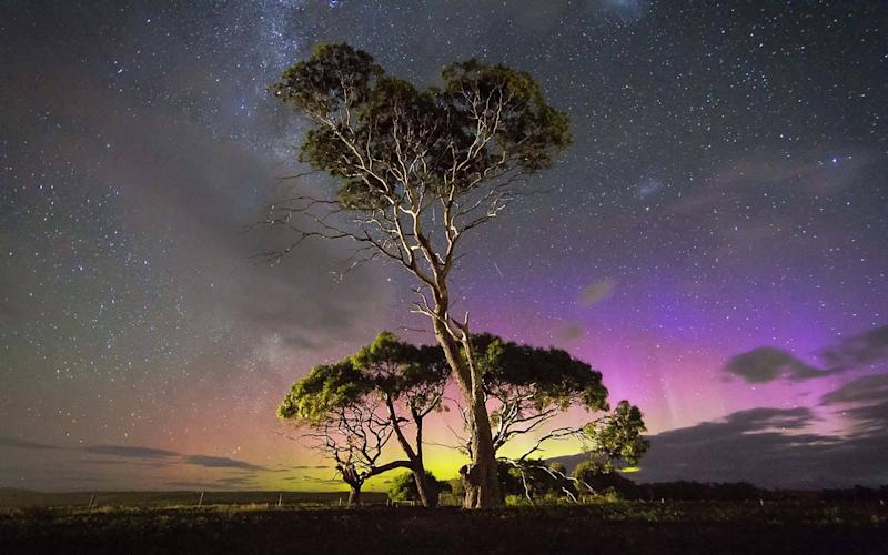 The Aurora is just as powerful in the Southern Hemisphere - © James Stone