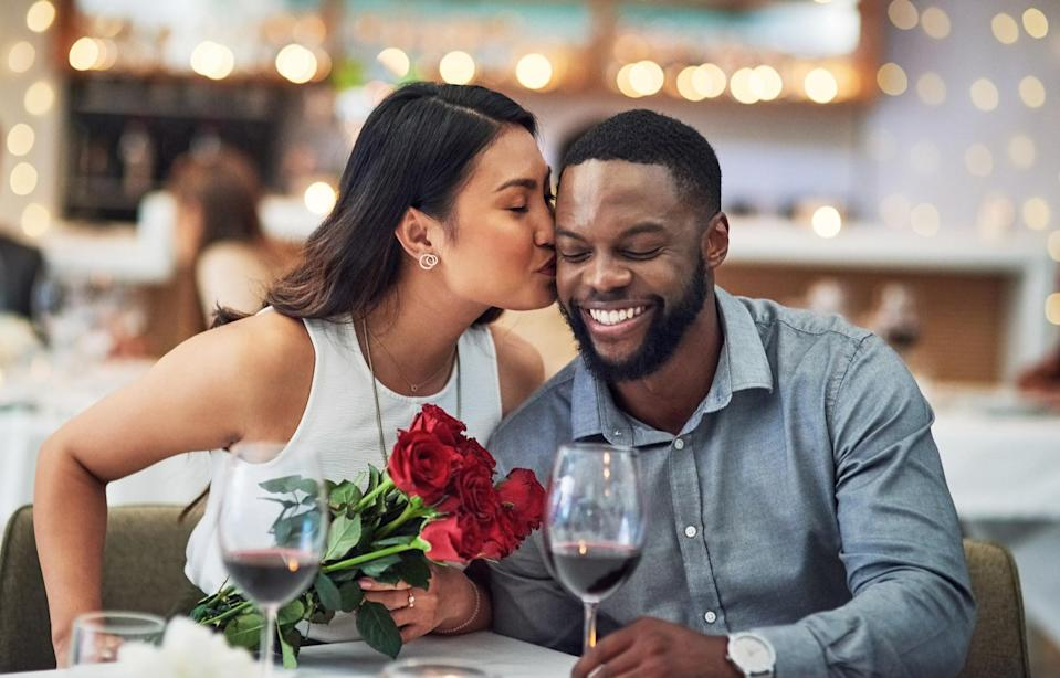 """<div><p>""""- Don't hold grudges.- Arguments will happen, but try not to end the day mad at each other.- Try to go on dates and do stuff together as much as you can.- Tell them you love them every day.</p><p>- Leave your friends and parents out of your relationship problems. If you need counseling/therapy, go to a professional.""""</p><p>—<a href=""""https://www.reddit.com/user/Actuaryba/"""" rel=""""nofollow noopener"""" target=""""_blank"""" data-ylk=""""slk:Actuaryba"""" class=""""link rapid-noclick-resp"""">Actuaryba</a></p></div><span> Peopleimages / Getty Images</span>"""