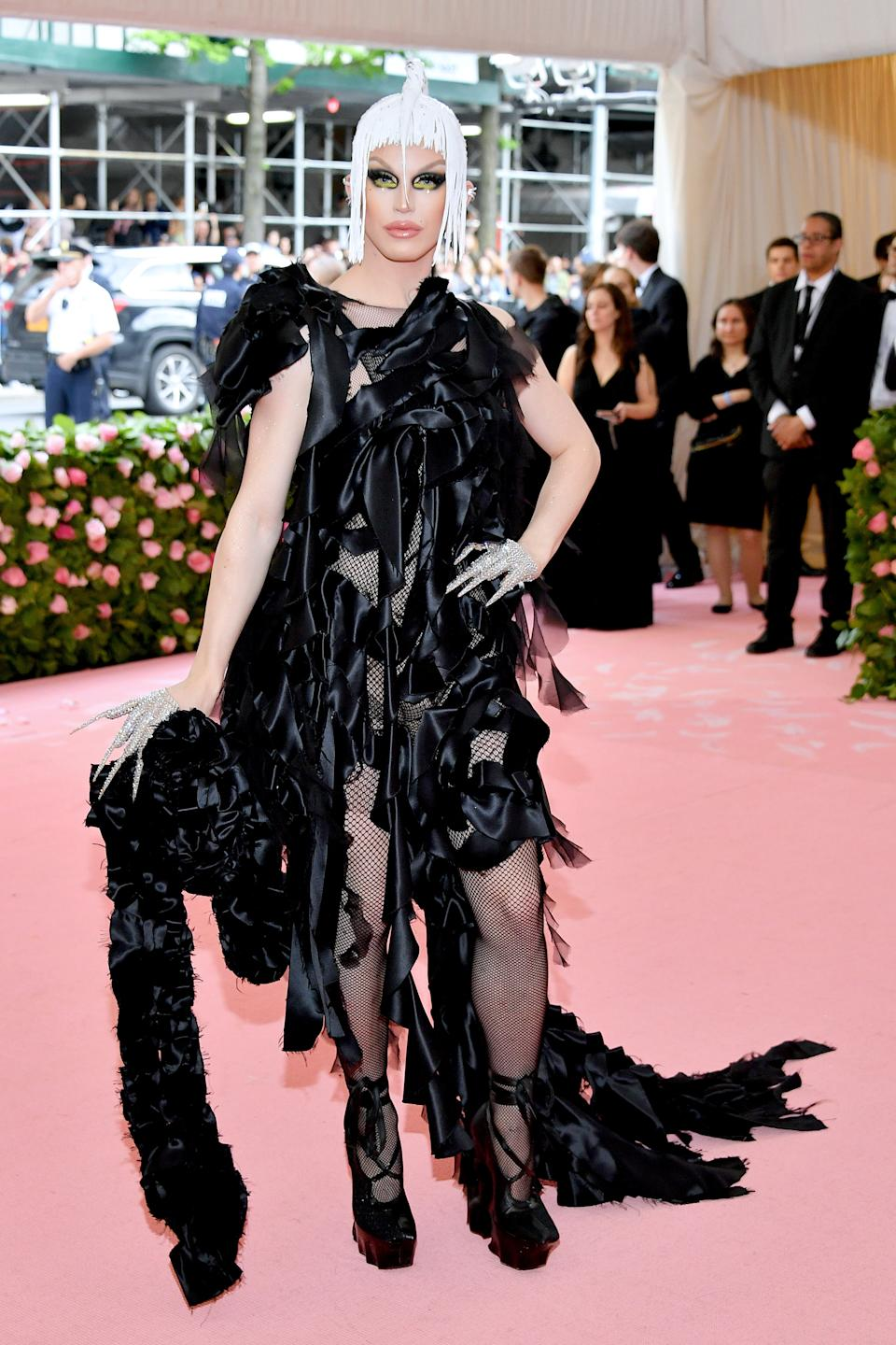"""<h1 class=""""title"""">Aquaria in Maison Margiela wearing Lynn Ban jewelry</h1><cite class=""""credit"""">Photo: Getty Images</cite>"""