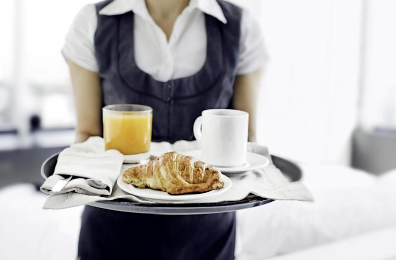 According to an expert, they could meddle with your room service. Photo: Getty Images