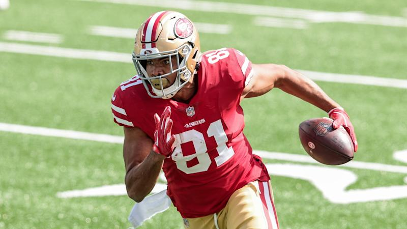Jordan Reed placed on injured reserve by 49ers with knee sprain