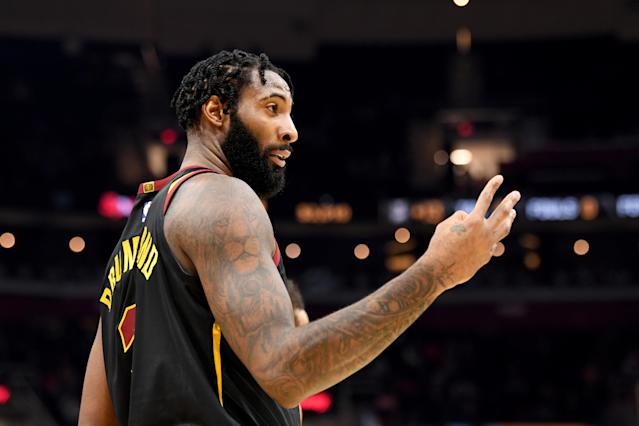 Andre Drummond has actually played eight games for the Cavs. (Photo by Jason Miller/Getty Images)