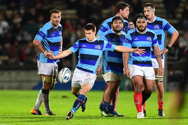 The Barbarians will tour New Zealand at the same time as the French national side in June (AFP Photo/NICOLAS TUCAT)