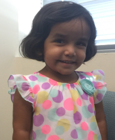 Sherin Mathews, 3, was reported missing to police on October 7.