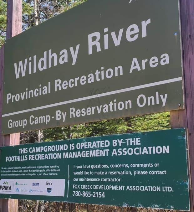 RCMP were called to Wildhay Provincial Recreation Area, about 40 kilometres northwest of Hinton, at about 2:30 p.m. Sunday.